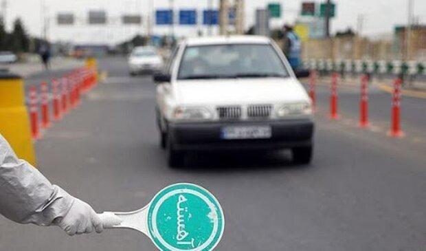 جریمه 22 هزار راننده متخلف در طرح فاصله گذاری اجتماعی