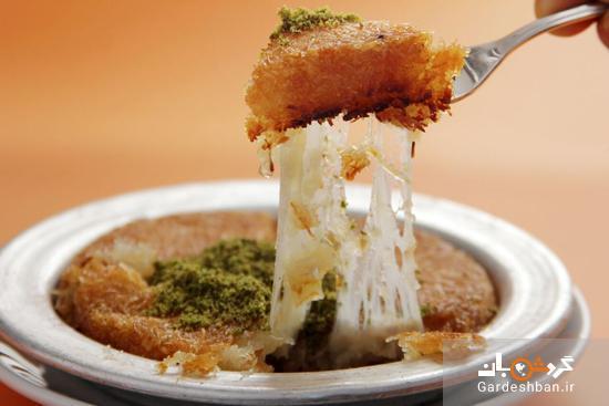 طرز تهیه کونوفه پنیری؛ دسر بی نظیر خاورمیانه ای