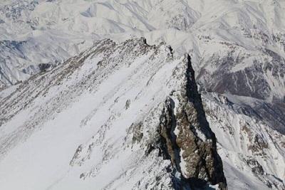 ممنوعیت صعود به قله علم کوه در مازندران