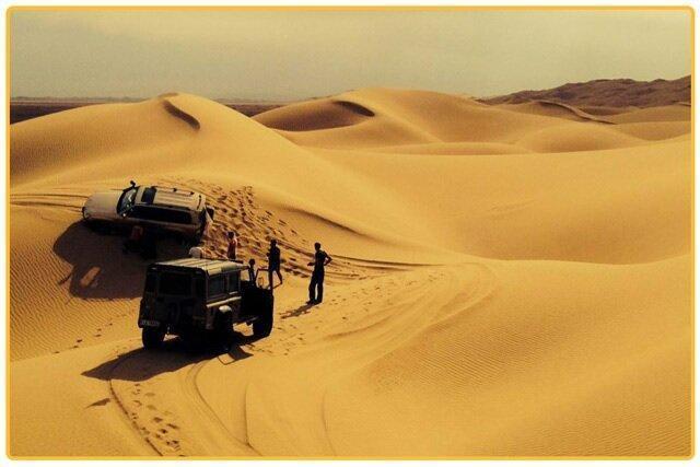 کویر مصر؛ با دریای شن اصفهان آشنا هستید؟