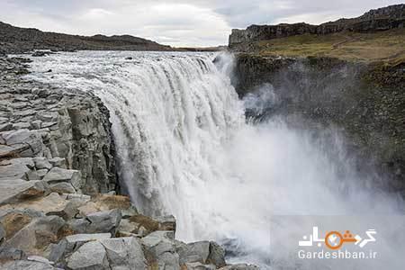 آبشار دتیفوس؛محبوب ترین جاذبه طبیعی ایسلند، عکس