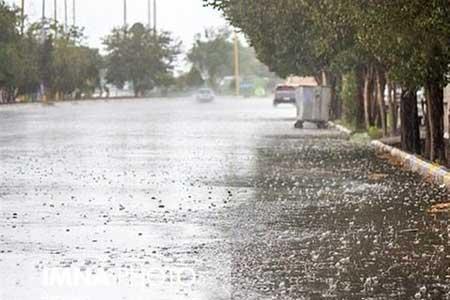 رگبار باران در 17 استان