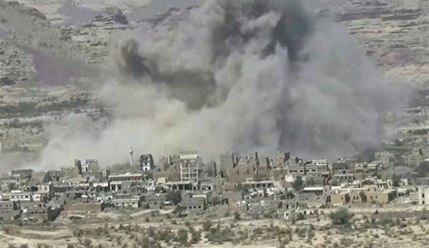 حملات موشکی و توپخانه&zwnjای عربستان به صعده، تشدید درگیری مزدوران سعودی و اماراتی در یمن
