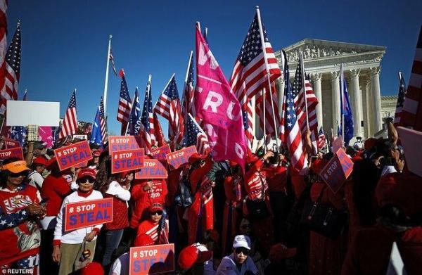 فراخوان ترامپ برای تظاهرات علیه نتیجه انتخابات