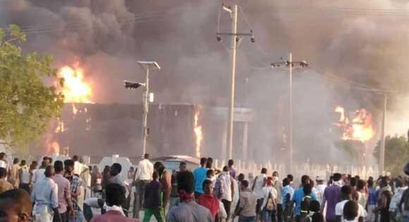 حالت فوق العاده در 7 استان سودان در پی اعتراضات